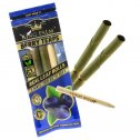 King Palm - Mini (0.8 grams) 2 Pack Cordia Leaf Rolls - Berry Terps